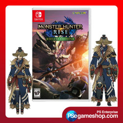 Switch Monster Hunter Rise Deluxe Edition (Mde/English)