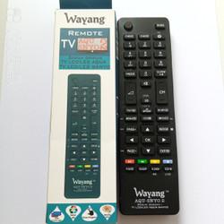 Remote TV LED LCD Sanyo Aqua langsung pakai multi