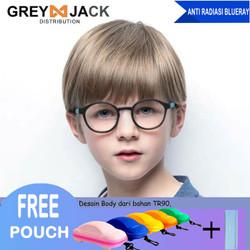 Kacamata Anak/ Kacamata Anti Radiasi/ Kacamata Anti Sinar Biru/8152 - C31-S