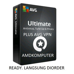 Antivirus AVG Ultimate 10 Devices 2 Tahun Kirim ke Alamat Buyer