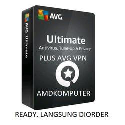 Antivirus AVG Ultimate 1 Devices 2 Tahun Kirim ke Alamat Buyer