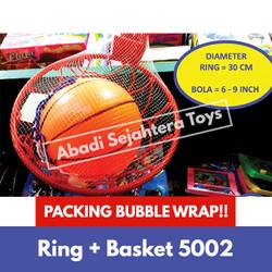 Ring dan Basket Mainan / Mainan Olahraga Anak