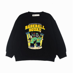 BILLIONAIRES PROJECT OUTER - BASEBALL SQUAD SWEATSHIRT - M