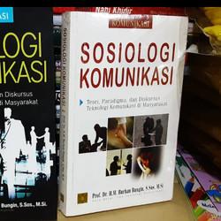 Sosiologi Komunikasi - Burhan Bungin #KCN