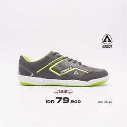 Aerostreet 39-42 Gowes Abu Neon -Sepatu Sport Pria Wanita Aero