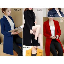 plain long coat