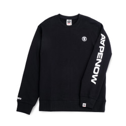Aape by A Bathing Ape Circle Logo Sweatshirt Black - XL