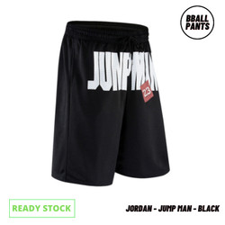 BBall Pants - Michael Jordan - Celana Basket - Jump Man - Hitam