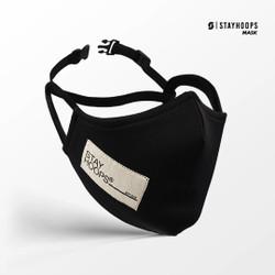 Stayhoops - Masker Fullprint 2 Layer - SH TAGLINE 2021