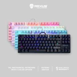 Rexus Keyboard Gaming Mechanical Legionare MX9 TKL RGB
