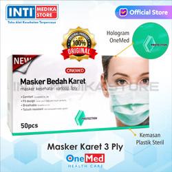 ONEMED - Masker 3 Ply Earloop Medis / Surgical Mask