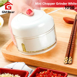 GM Bear Grinder Mini Chopper Serba Guna 1096 - Grinder Mini Putih