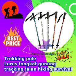 Trekking / Treking pole Lurus tongkat gunung tracking jalan hiking sur
