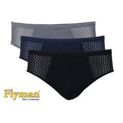 Flyman Celana Dalam Pria Dewasa | Pakaian Dalam | FM 3245 1 Pack Isi 3 - M