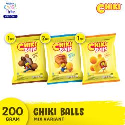 Chiki Ball All Variants 200 Gr - 4 Pcs