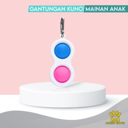Bright Crown Pop It Push Bubble Stress Relief Kids Pop It Tiktok - 2 fidget pop