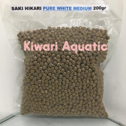 Saki Hikari Pure White Medium / M Floating Repack 200g 200 gr 200 gram