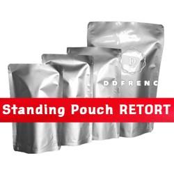 Standing Pouch RETORT 13x20 vacuum steril 130 derajat daging presto