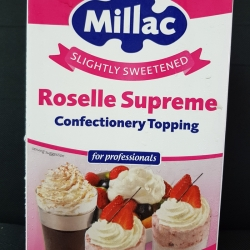 MILLAC Roselle Supreme whipping cream 1 liter