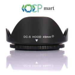 Lens Hood Flower 49mm Canon 15-45mm M3 M10 M100 M5 M5 M6 Sony Hood