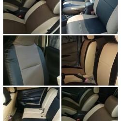 Sarung Jok Mobil Etios Falco Kulit Syntetic Full 2 Baris Siap Kirim