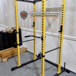 Home POWER RACK With Dip Bar Import /Cage/Multi/Squat/Bench Press/Mini