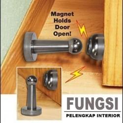 Magnetic Door Stopper Holder Pengganjal Penahan Pintu Rumah Magnet