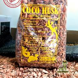 Coco Husk / Alas Kandang Torto Reptil Sulcata / Substrate 6 Liter