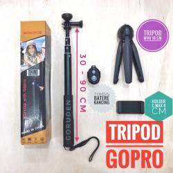 Paket Tongsis Yunteng Bluetooth + Mini Tripod + Tomsis / Remote GoPro