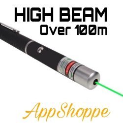 Green Laser Pointer Beam 5mW High Power Pen HIGH BEAM Night Day 100m
