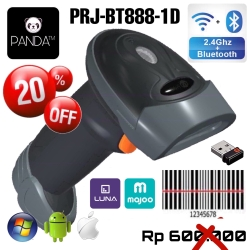 Wireless Bluetooth 1D Laser Barcode Scanner PANDA PRJ-393(Android,IOS)