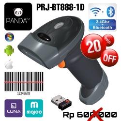 Wireless Bluetooth Panda PRJ-393 Laser Barcode Scanner Best Perfomance