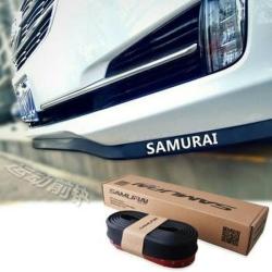 Pelindung Bumper List Karet Universal Hitam Samurai - Hitam