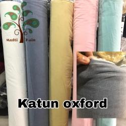 Bahan kain katun oxford / chambrey / cembrey / cembrai murah