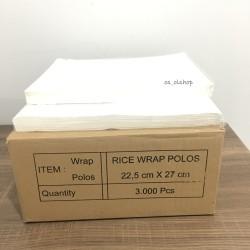 GROSIR Kertas Nasi KFC Mcd 22,5 x 27 cm / Paper Wrap Food Grade