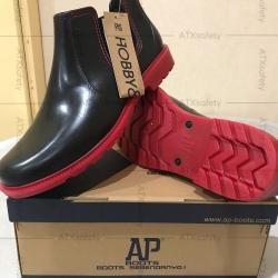 Sepatu AP Hobby N Work Boots Pendek PVC Kerja Waterproof ORIGINAL