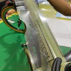 Sticker pelindung sepeda brompton
