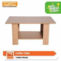 Jual Informa Meja Tamu Kimmy Coffee Table Rect White Hgloss Kota Tangerang Selatan Informa Tokopedia