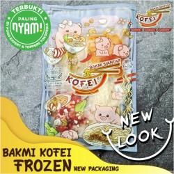 Paket Bakmi Chasio dari Bakmi Kofei kemasan beku (frozen) NONHALAL