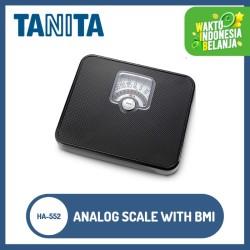 Tanita Timbangan Badan Analog HA-552 (Black) With BMI