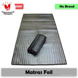 Matras Foil Camping Alumunium Mattress Alas Tidur Hangat di Tenda