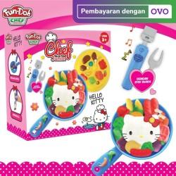 Fundoh X Hello Kitty Chef Junior - Mainan Lilin Anak - Mainan Edukasi