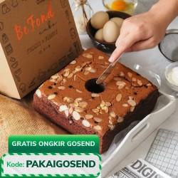 Choco Almond Cake - Fluffy Cake uk 20x20cm