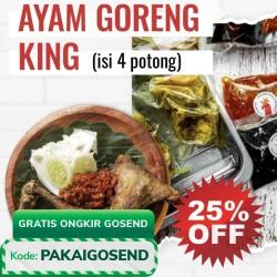 Ayam Goreng Khas Surabaya (Kemasan Vakum/Frozen) - AyamKing Jakarta