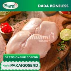 Dada Boneless Probiotik 500 gram - Natural Poultry