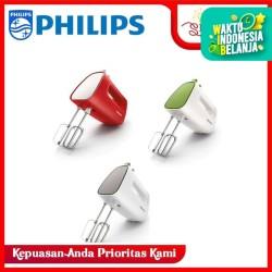Hand Mixer Philips HR-1552 (Merah, Hijau, Abu-abu)