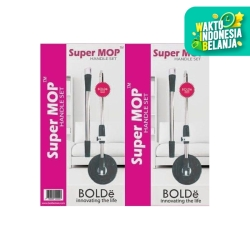 HANDLE SET GAGANG TONGKAT SUPER MOP ALAT PEL SUPERMOP 100% ORI