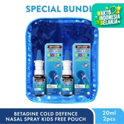 BETADINE® Cold Defence Kids Nasal Spray Twin Pack