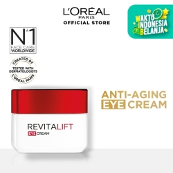 L'Oreal Paris Revitalift Eye Cream - Krim Mata Anti-Aging