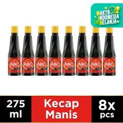 ABC Kecap Manis 275 ml - Multi Pack 8 pcs